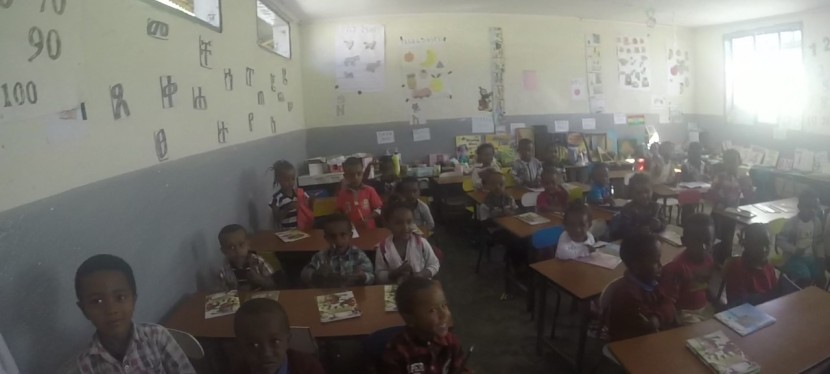 Amharic lesson withK/Garten